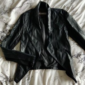 Dynamite leather blazer